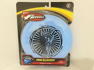 Wham-O Pro-Classic 130g Frisbee Disc Blue Hang Loose Hand Brand New (CC59)