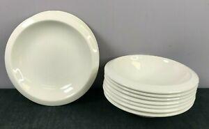 Jamie Oliver Churchill Porcelain x6 White Dinner Plates & x6 Bowls