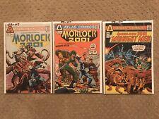 MORLOCK 2001 Lot  #1 #2 #3 (1975 Atlas Comics) Ditko Buckler Wrightson