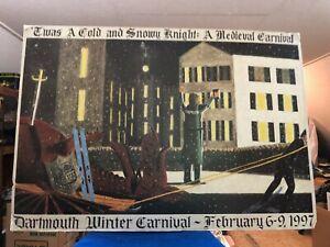 Original Dartmouth Winter Carnival Poster 1997