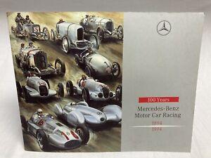 Mercedes Benz Motor Car Racing 1894-1994