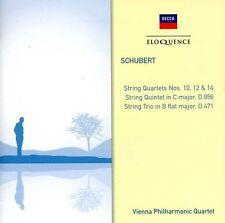 Vienna Philharmonic - Schubert: STR QRTS Nos 10 / 12 & 14 / STR Trio 471 [New CD