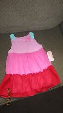 NWT Hype pink and red sleeveless dress size  24 mo..