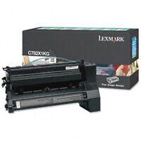 Genuine Lexmark C782X1KG Black Extra High Yield Return Program Toner Cartridge