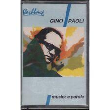 Gino Paoli MC7 Musica E Parole / 1 Stampa Flashback RCA Sigillata 0035627183324