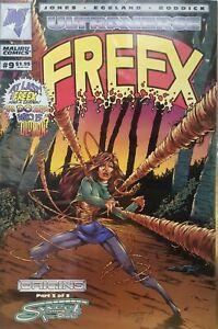 Malibu Comics Ultraverse Freex Issue # 9 March 1994 Part 3 of 5 NM-MINT