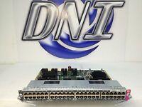 Cisco WS-X4648-RJ45V+E 4500-E Gigabit Plus RJ45 802.3af 802.3at 30W PoEP GE KMJ