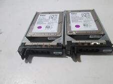 """Lot of 2 Dell X829K ST9146803SS 146GB 10K SAS 2.5"""" Hard Drive 9FJ066-051"""