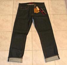 Element Rochester Men's Classic Straight Raw Selvedge Denim Jeans NEW 32x32