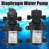 12V 130PSI 6L/Min Water High Pressure Diaphragm Self Priming Pump Automatic 70W