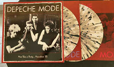 DEPECHE MODE-RAR-LIVE MANHEIM 1983 TOUR-SPIRIT-2LP SPLATTER  /INSERT