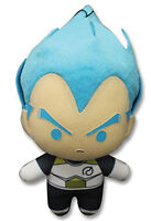 "Dragonball Z ~ 6.5"" SSGSS VEGETA PLUSH FIGURE ~ Official Great Eastern Plushie"