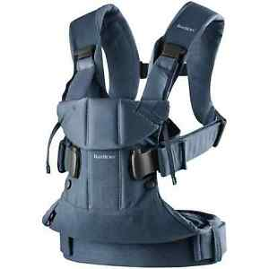 BabyBjörn 098025 One Baby Carrier - Denim Blue - Used (VGC) - RRP £160