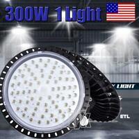 300W 300 Watt UFO LED High Bay Light Shop Lights Garage Lamps Highbay Grow