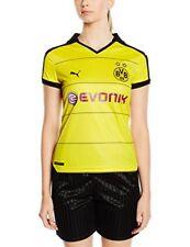 Équipements de football jaune, pour femme