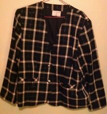 Tan Jay Black And Pink Jacket Size 8