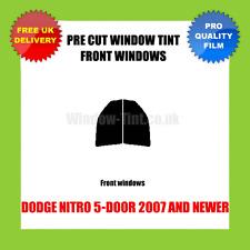 Dodge Nitro 5-door 2007+ Front vorgeschnitten Scheibentönung Set
