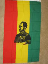 5X3 EMPORER HAILE SELASSIE ETHIOPIA FLAG RASTA NEW F132