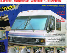 Motor Home, RV, Motor Coach, Class A window shade- Extra Jumbo RV Sun Shade 1-PC