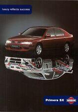 NISSAN Primera SX LIMITED EDITION 1998-99 UK Opuscolo Vendite sul mercato 1.6 2.0 2.0TD