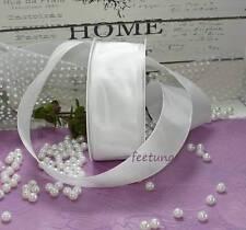 2 m Schleifenband  (0,50 €/m) Drahtband weiß 40mm Profiband Hochzeit Kommunion
