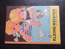 Kleine Meister-Mit Papier&Kleister-DDR-Bastelbuch 1960er Jahre