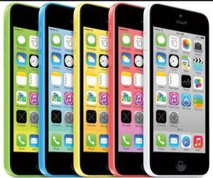 "Apple iPhone 5C-8GB 16GB 32GB GSM ""Factory Unlocked""  Cell Phone c Very Good"