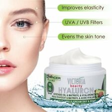 Victoria Beauty Hyaluron Avocado Oil & Matrixyl Anti-Wrinkle Cream UVA,UVB Filte