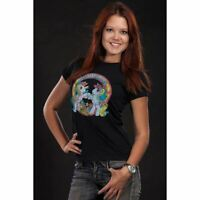 Ladies My Little Pony Best Friends Black Fitted T-Shirt - Womens Retro Cartoons