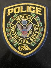 Federal Protective Services Gsa Police Patch