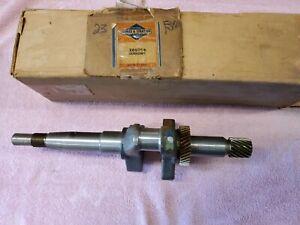 New Briggs 260764 Crankshaft Model 23A