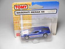 Maserati Merak SS Bleu Bleu Blu Blue Metallic, TOMICA TOMY #9100 en 1:66? en boîte
