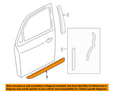 FORD OEM 00-07 Focus FRONT DOOR-Body Side Molding Right 5S4Z5420938DAA