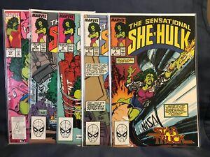 The Sensational She-Hulk #6, 8, 9, 10, 51 (Lot of 5) 1989 John Byrne HIGH GRADE!