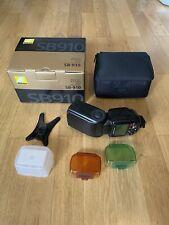 NIKON Speedlight SB-910 i-TTL Blitzgerät in Originalverpackung und Zubehör