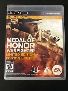 Medal of Honor: Warfighter - Limited Edition (Sony PlayStation 3, 2012) Complete