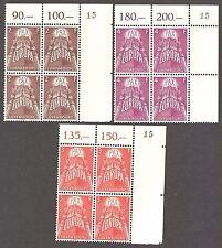 LUXEMBOURG 1957 EUROPA key set  - 98643