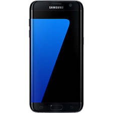 DEAD | Samsung Galaxy S7 Edge | 32GB | Black Onyx | Cracked LCD | Device only
