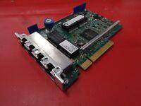 HP 4 Port Gigabit Ethernet Adapter SP/N 634025-001 P/N 629133-001