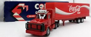 Corgi Juniors Die-Cast Coca Cola Leyland Truck Boxed 1985 Lorry Made in the UK