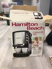 Hamilton Beach Cappuccino Plus Express Maker, Open Box, Never Used