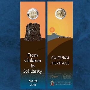 Malta - Cultural Heritage - 2 Bu Coincard - Cultural Heritage