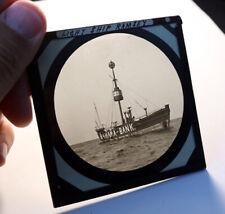 More details for bahama bank lightship ramsey isle of man antique photo magic lantern slide #2049