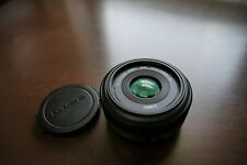 Panasonic Lumix G H-H020 20mm f/1.7 Aspherical Lens Micro 4/3 Made in Japan