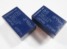 10 x Relais 12V 2xUM 30V 1A 125V 0,5A Panasonic TQ2-12V Gold #9R54B#