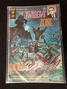 1971 TWILIGHT ZONE #36 - Rod Serling Gold Key Comics