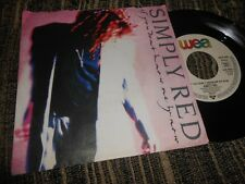 """SIMPLY RED IF YOU DON'T KNOW ME BY NOW/MOVE ON OUT 7"""" 1989 WEA GERMANY"""