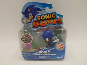 """Tomy Sonic """"Boom"""" with the Ancients' Crystal Sonic The Hedgehog Toy NIB T22511"""