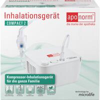 Aponorm Inhalationsgerät compact 2 - PZN 16082767 - neu & OVP v med. Fachhändler