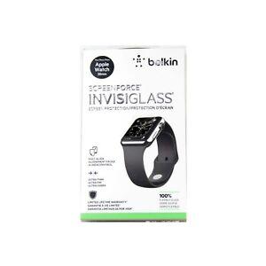 BELKIN INVISIGLASS FOR APPLE WATCH SERIES 3 2 1 NIKE+ SPORT 38MM GLASS F8W714QE